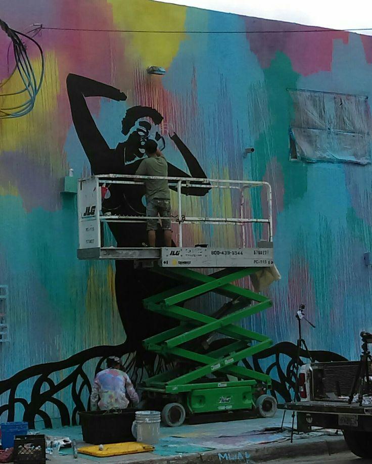 Wynwood Art District. Miami