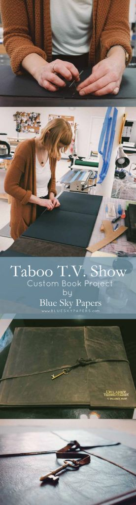 Taboo TV Show leather project
