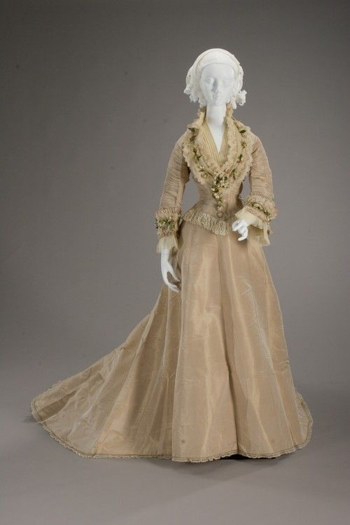 Wedding Dress, 1875 From the Indianapolis Museum of Art