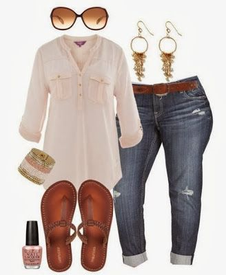 Outfit casual para gordita on 1001 Consejos  http://www.1001consejos.com/social-gallery/outfit-casual-para-gordita