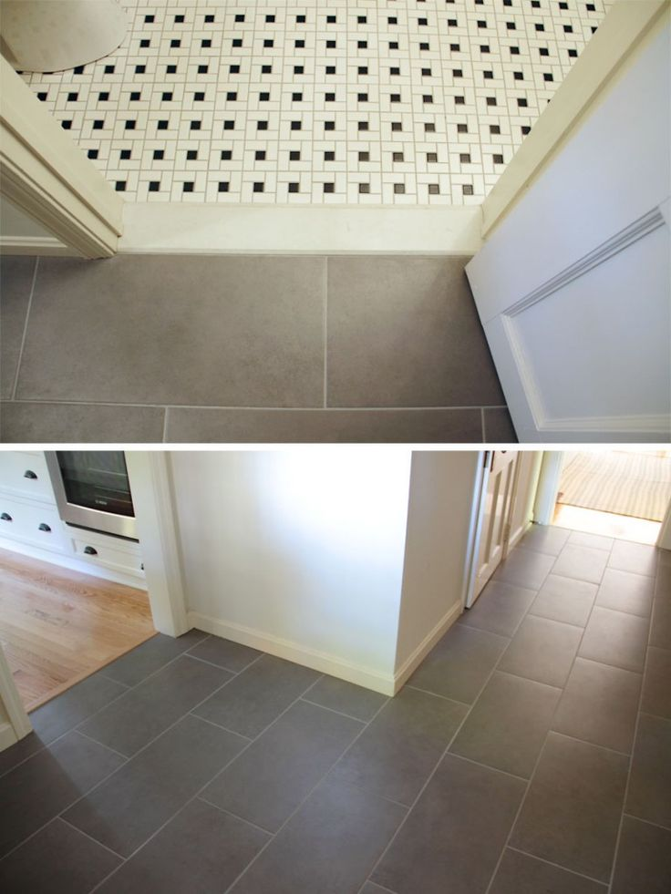 13 best images about tile floor transitions on pinterest for Flooring transition from kitchen to family room