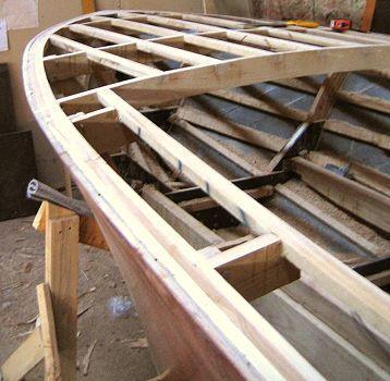 Riviera mahogany runabout boat plans pic359b