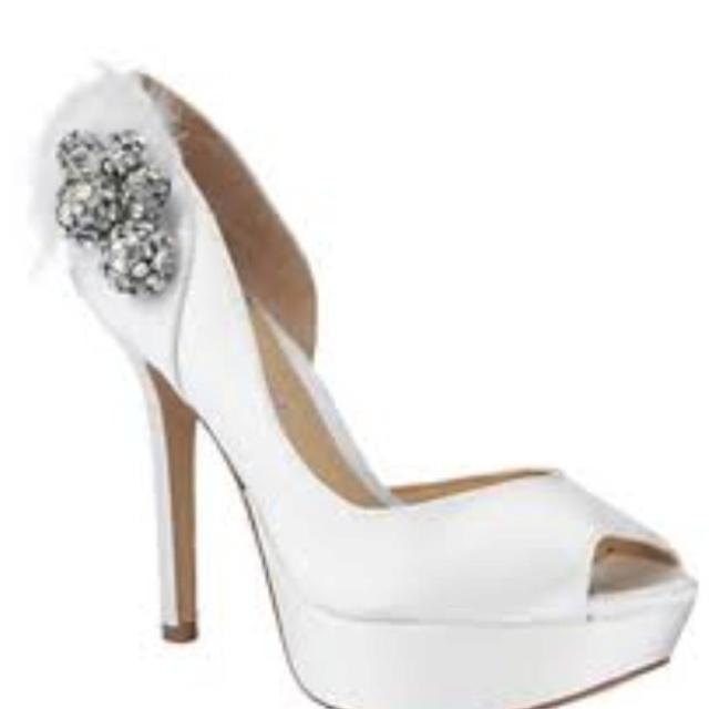 Gianni Bini Frenchy Peep Toe Pumps Aka My Wedding Shoes I Lov