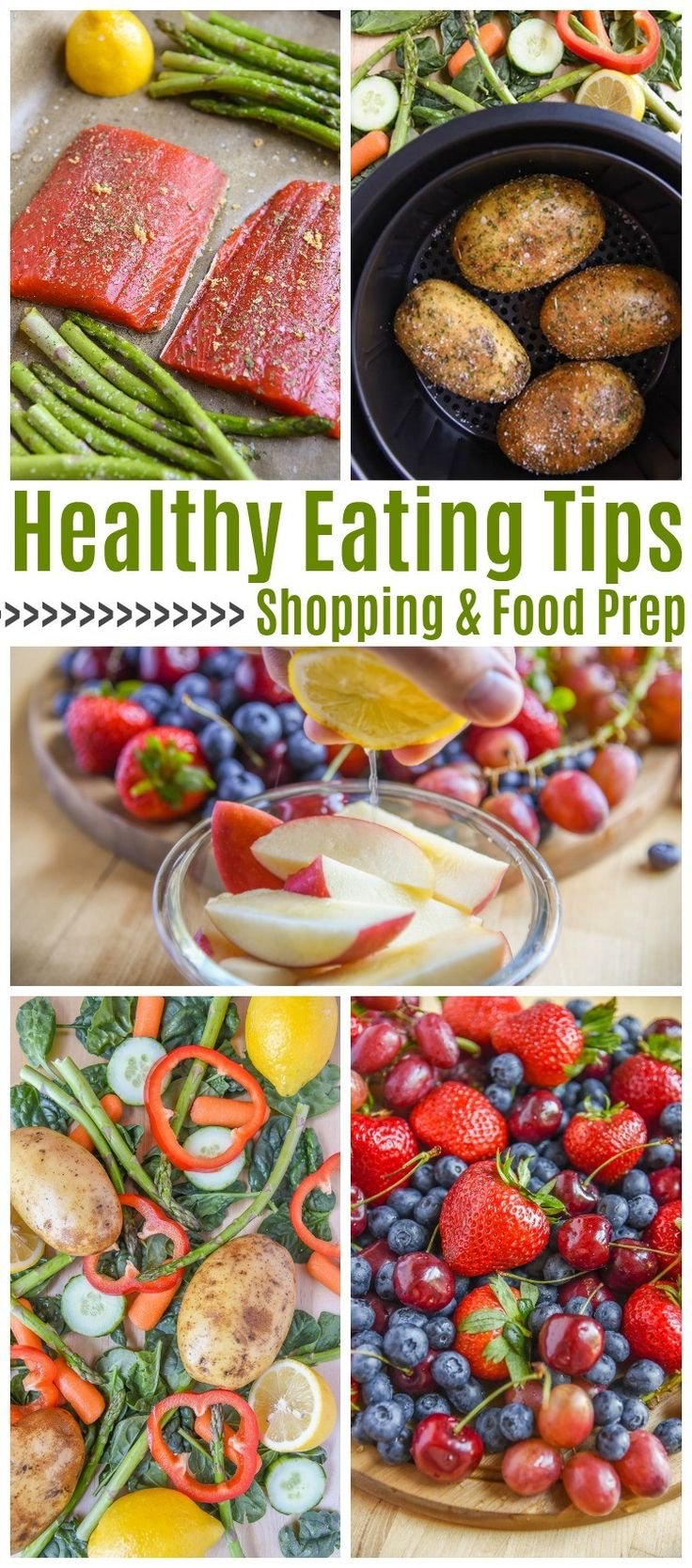 Healthy Eating Tips for shopping and food prep // buying in bulk via @KnowYourProduce