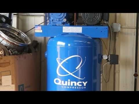 Quincy Compressor Single Stage Reciprocating Compressor Model Q1210PQ