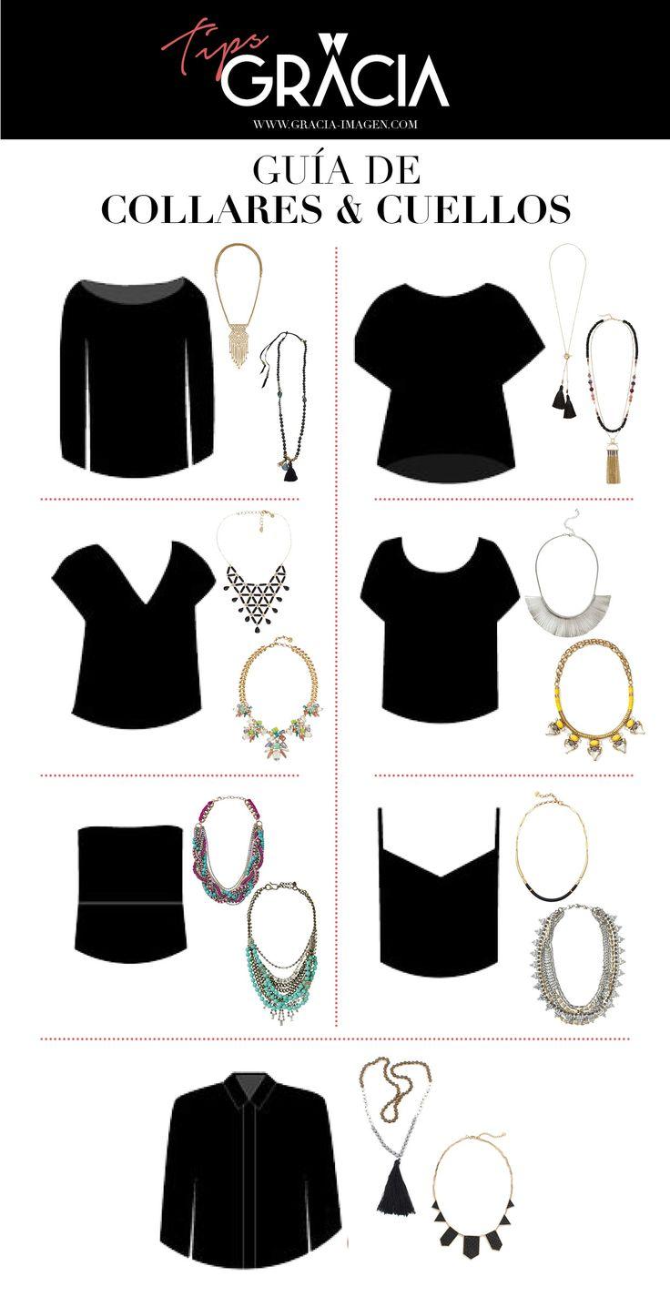 Súper útil! Tipos de collares según escote o cuello