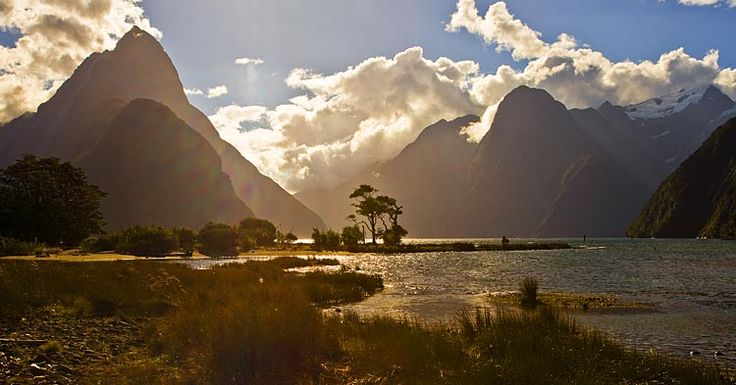 Milford Sound, see more, learn more, at New Zealand Journeys app for iPad www.gopix.co.nz