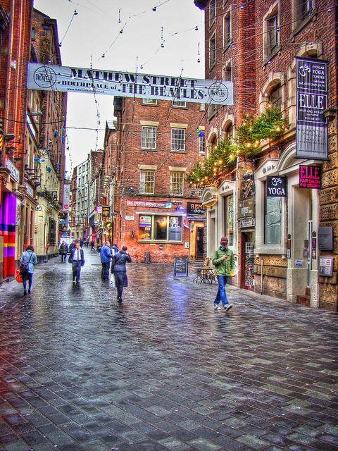 Matthew Street, Liverpool, England