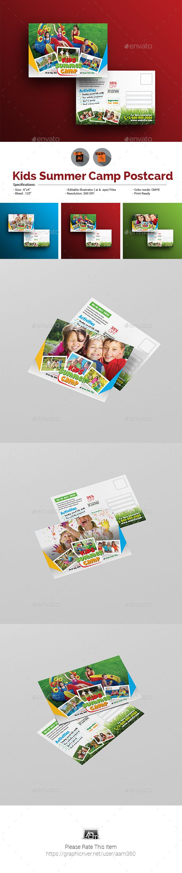29 best Kids Summer Camp Print Templates images on Pinterest | Print ...