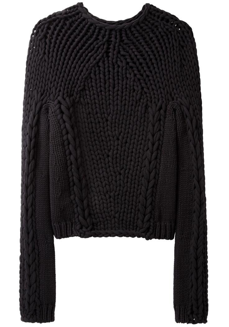 Alexander Wang  / Handknit Seamless Pullover