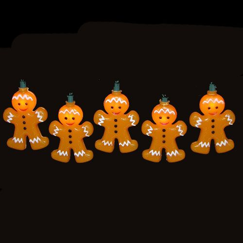 Exceptional Image Detail For  Gingerbread Christmas Lights, Novelty Lights, Christmas  Lights