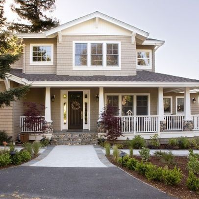photo gallery exterior house colors | Craftsman New Home - traditional - exterior - san francisco - Allwood ...