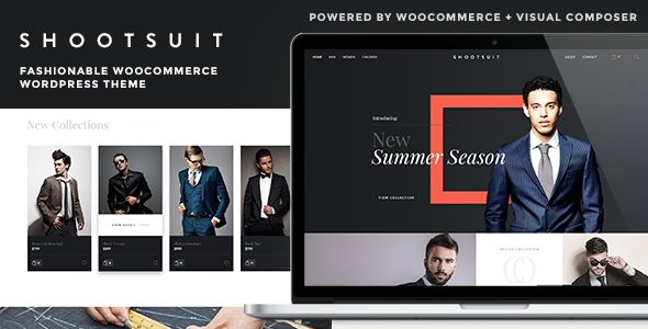 ShootSuit - Fashionable WooCommerce WordPress Theme Shootsuit is designed for fashionable online store theme. You can start selling your fashion products quickly and easily using Shootsuit, powered by WordPress and WooComerce.