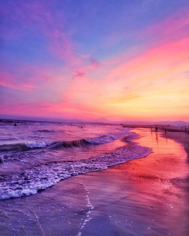 Dec 16 2019 Image May Contain Ocean Sky Cloud Beach Outdoor Water And Nature Beautiful Landscapes Sunset Wallpaper Beautiful Sunset