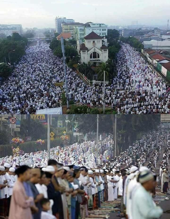 İndonesia Eid Prayer