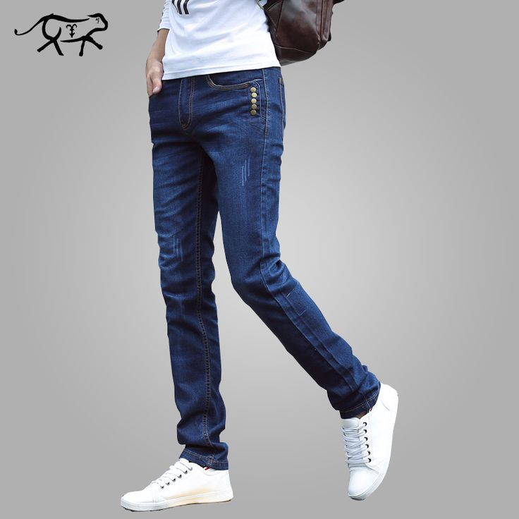 >> Click to Buy << 2017 New Arrival Summer Jeans Men brand Ripped Denim Jeans For Men Jeans Cotton Long Fashion Solid Trousers Mens #Affiliate
