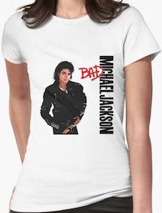 Michael Jackson Bad Album Cover T-Shirt
