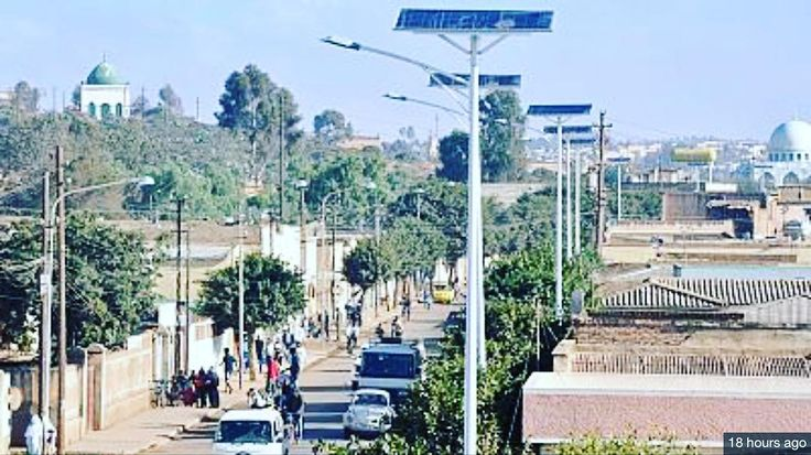 According to the information minister of Eritrea Yemane Ghebre Meskel Asmara has begun to use solar energy to run the streetlights as part of an initiative to use more solar energy. Streetlights on 10 kilometers of road are currently being powered by solar energy. Some of the areas chosen for the the first stage were suburban areas including Idaga Arbi Akhria Idaga Hamus and Modeshto. Many governments within Africa do not wish to use solar energy because it is an expensive alternative. Most…