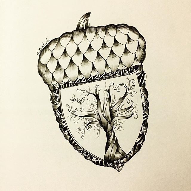 25 best ideas about acorn tattoo on pinterest moth for Tattoo cork ink