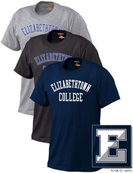 Elizabethtown College Heavyweight T-Shirt   Elizabethtown College