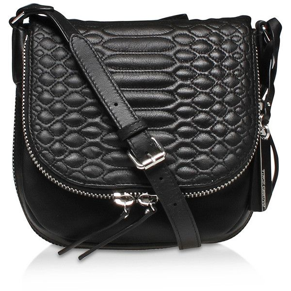 Baily Crossbody5 Vince Camuto Black ($145) ❤ liked on Polyvore featuring bags, handbags, shoulder bags, black, leather crossbody handbags, genuine leather shoulder bag, crossbody purse, leather crossbody and quilted crossbody