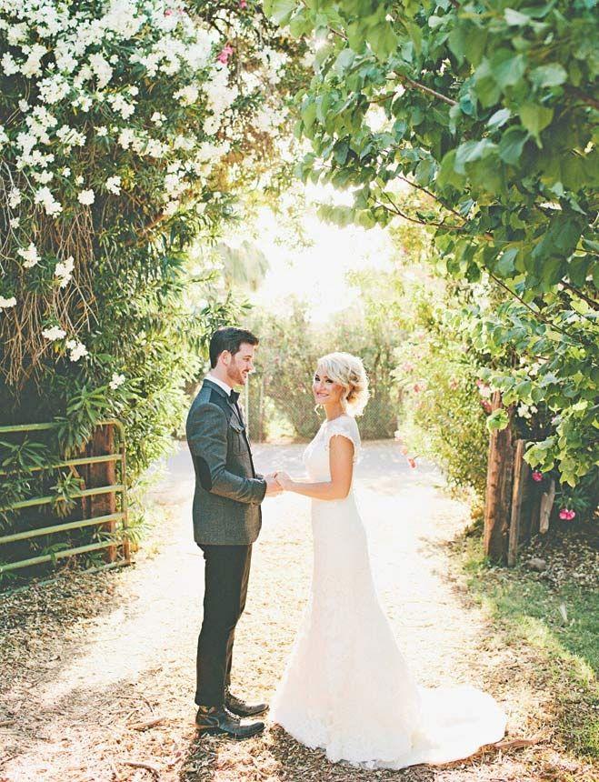 Bride Groom A Rustic Arizona Wedding At The Farm South Mountain Magazine Weddings In 2018 Pinterest