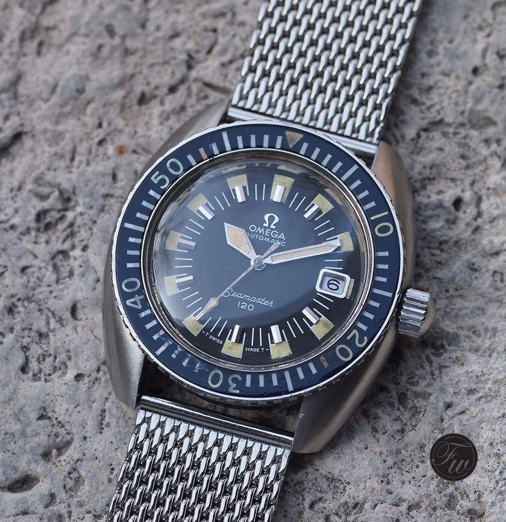 Vintage Omega Seamaster 120 166.0073