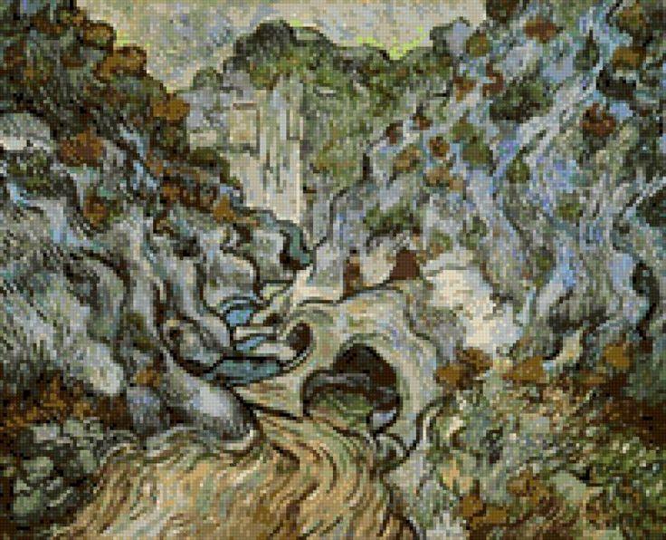Путь через овраг (Ван Гог), предпросмотр