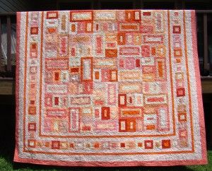 Thinking I really like the center for Jeremy's manly quilt.