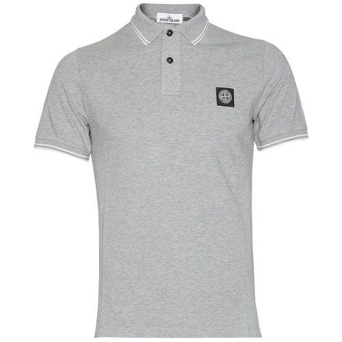 Mens Stone Island Short Sleeve polo T shirt