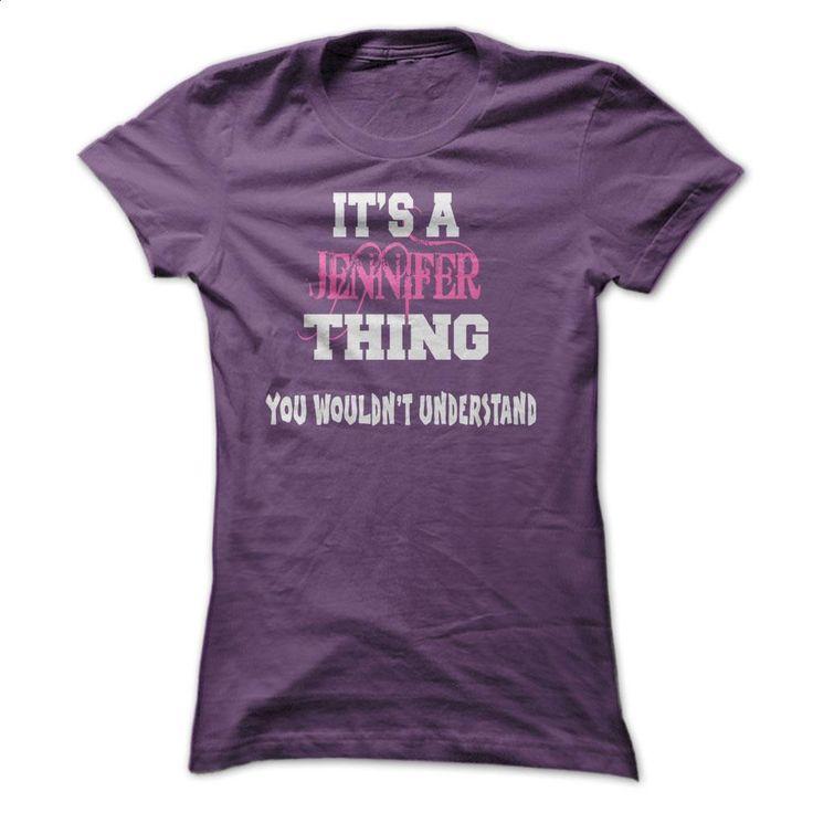 JENNIFER T Shirts, Hoodies, Sweatshirts - #teen #linen shirts. PURCHASE NOW => https://www.sunfrog.com/Names/JENNIFER-ladies.html?60505