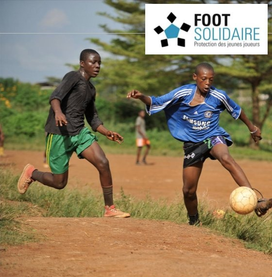 Foot Solidaire aims to protect young football players from trafficking and exploitation.
