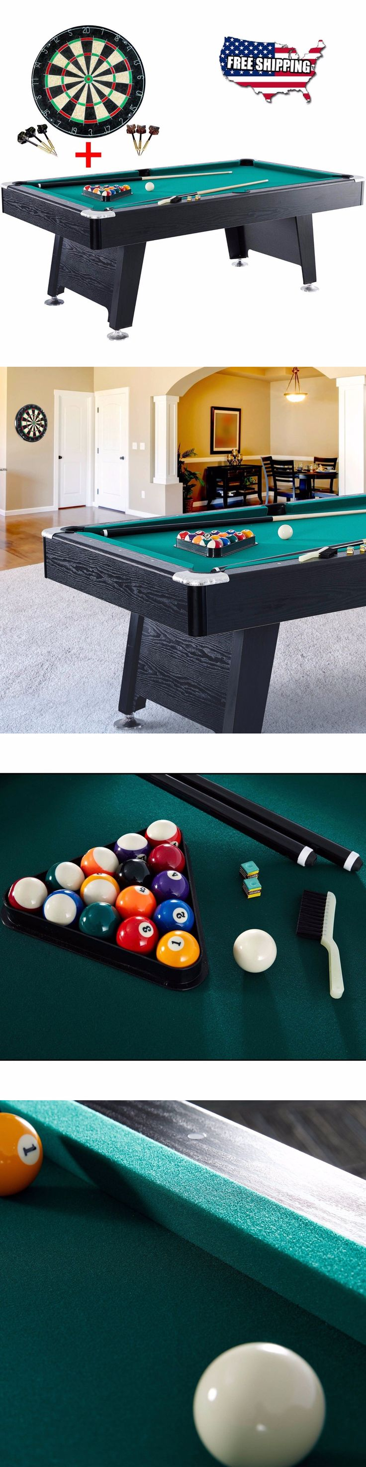 Unique pool tables family room contemporary with bold pool table cool - Tables 21213 84 Inch Pool Table Game Room Billiard Balls Cues Table With Bonus