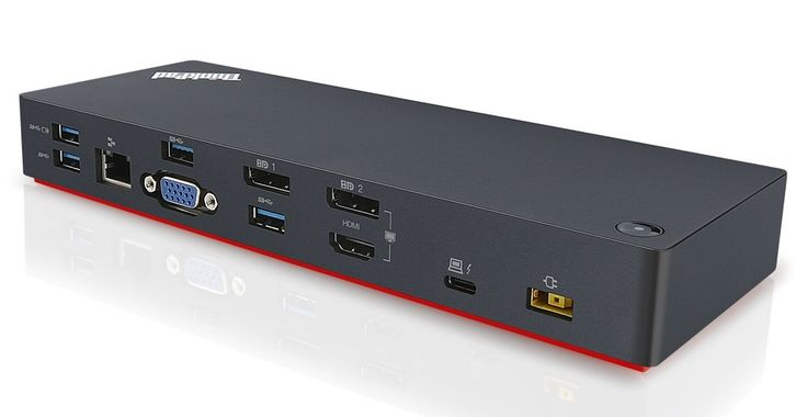 Lenovo's $280 ThinkPad Thunderbolt 3 Dock adds full-size USB, HDMI, more to new MacBook Pro
