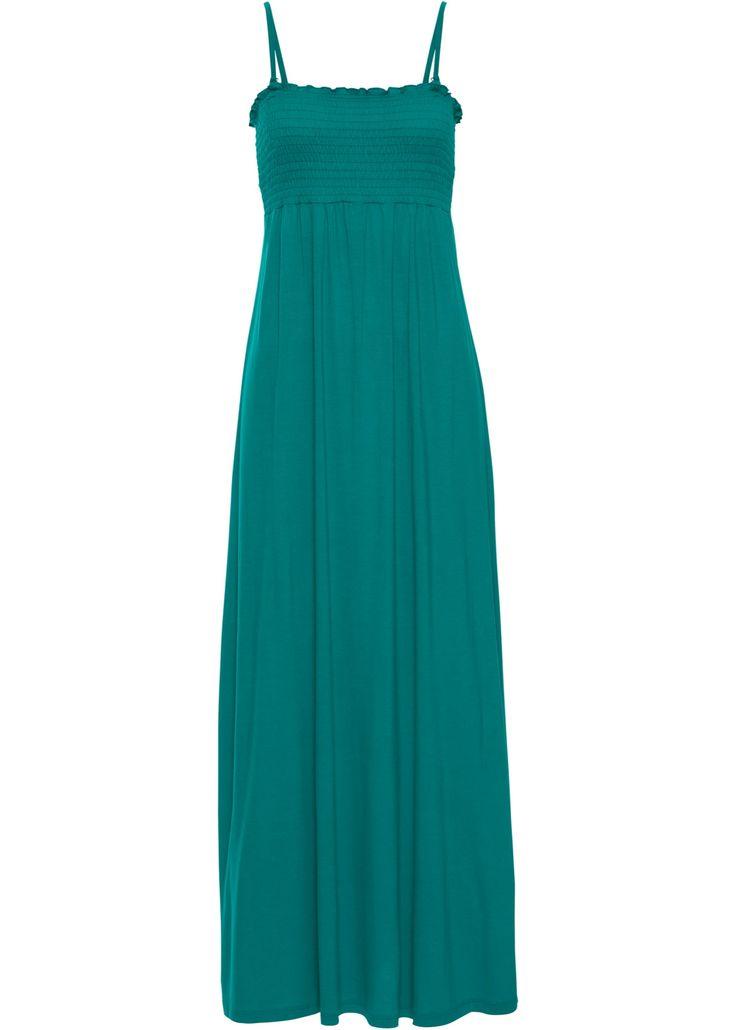 Maxikleid, mit Smock dunkelsmaragd - BODYFLIRT jetzt im Online Shop von bonprix.de ab ? 16,99 bestellen. Sommerliches Jerseykleid in Maxilänge. Das Kleid ...