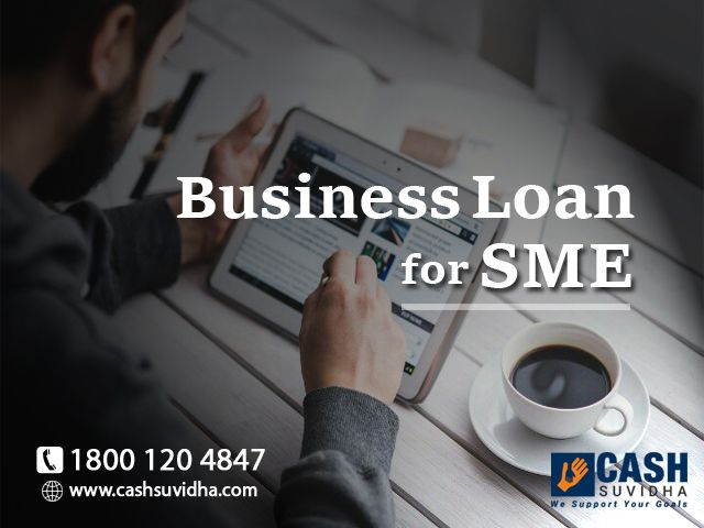 Cash Suvidha provides collateral free business loan for SMEs in India. #ApplyOnline #BusinessLoan #LoanforSME #CollateralFree #Finance