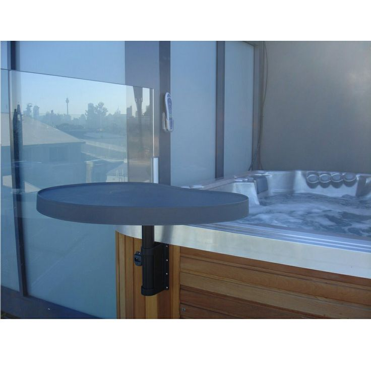 Spa Tray Table for convenient access to drinks, food, or anything else you can put on it. http://spastore.com.au/spa-tray-table/ #pool #spa #spapool #swimspa