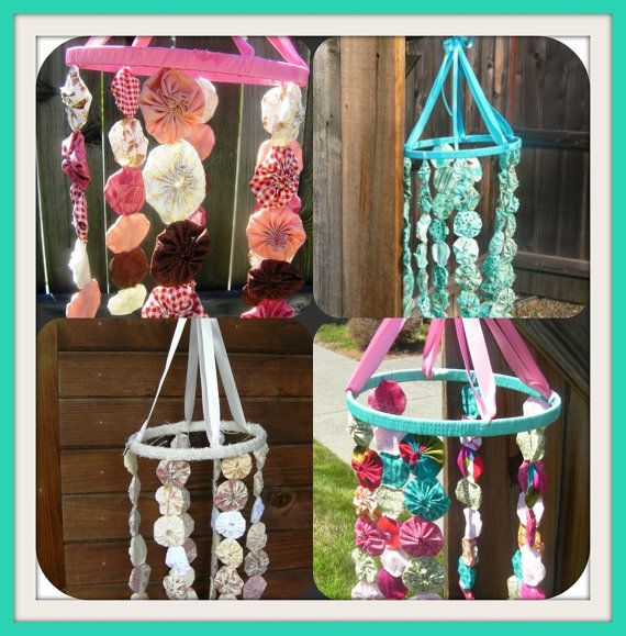 This is an amazing shabby chic tree and i hope you give it a try! Yoyo Mobile Pdf Tutorial Step By Step Instructions To By Riandpi 6 50 Diy Crafts Shabby Chic Mobile Crafts