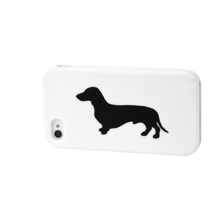 {Dachshund iPhone Case White} for iPhone 4/4S