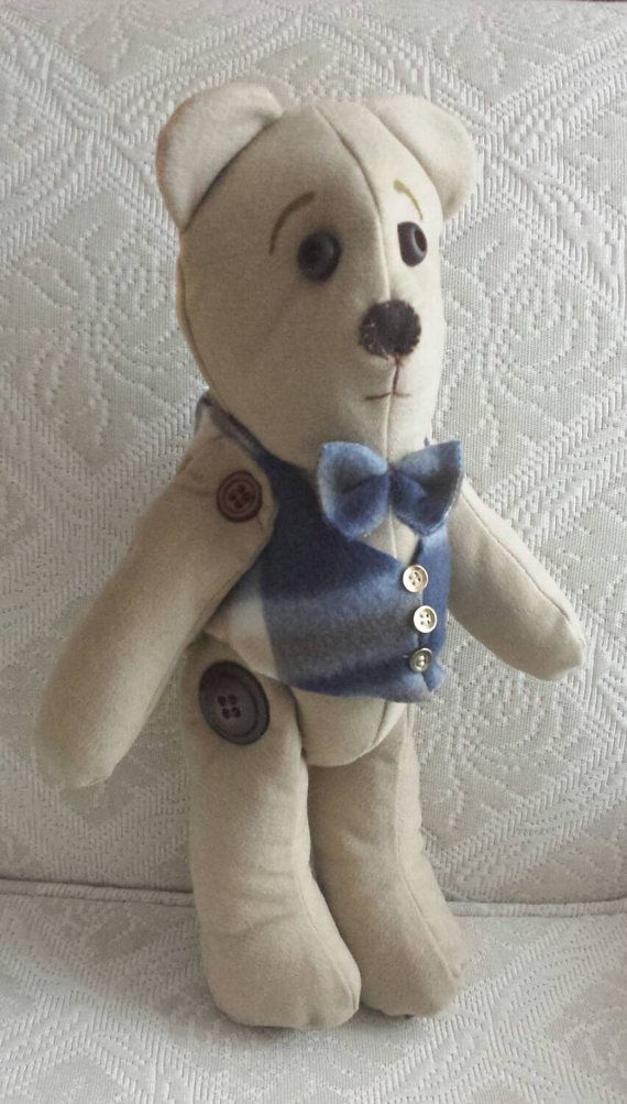 Check out this item in my Etsy shop https://www.etsy.com/ca/listing/218436158/15-soft-cloth-sculpted-teddy-bear-a