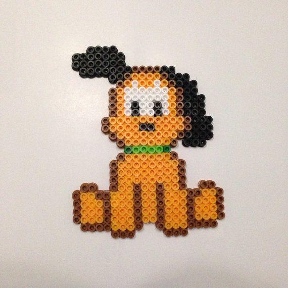 Disney's Pluto the dog Perler Bead