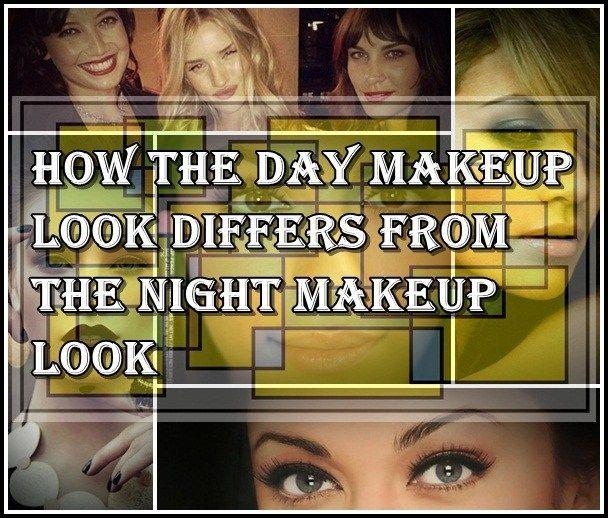 Wie der Tag Make-up-Look unterscheidet sich von der Nacht Make-up-Look  #frisure…