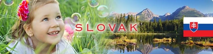 Learning Slovak for kids | Slovak DVDs, books, flash cards for children | Teach children Slovak