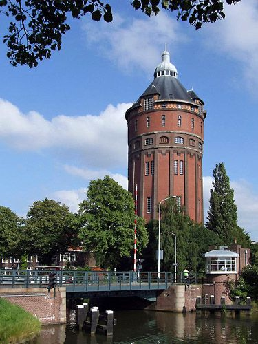 Watertoren Kostverloren, Groningen, The Netherlands