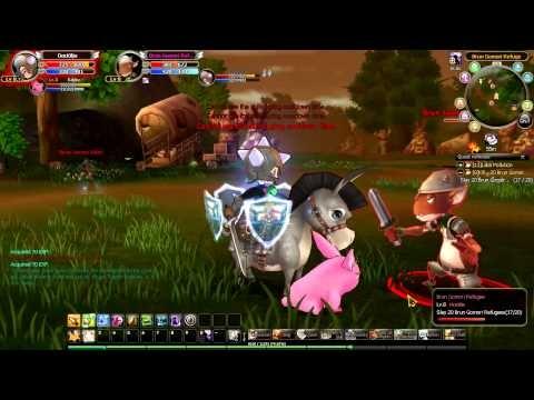 Knight Age - gameplay 01  http://www.youtube.com/watch?v=9QoGNijAvJI