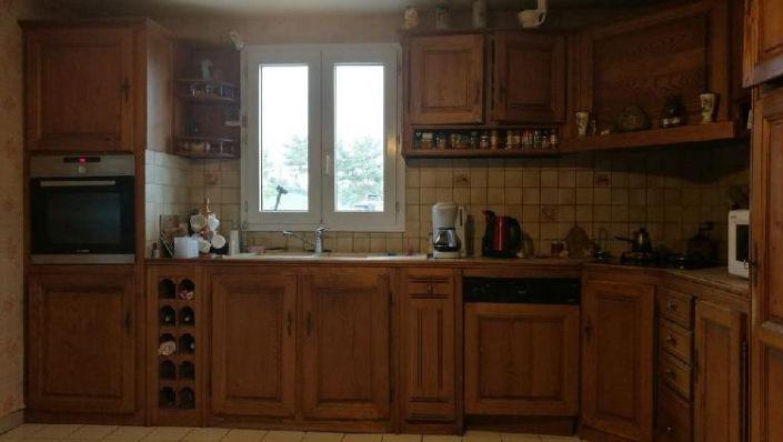 meubles cuisine bois massif occasion a