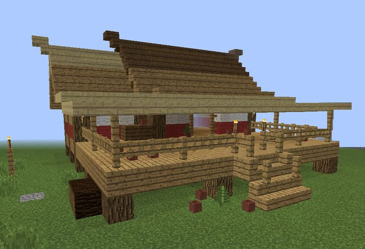 Age Of Empires Asian House 1 - GrabCraft - Your number one source for MineCraft buildings, blueprints, tips, ideas, floorplans!