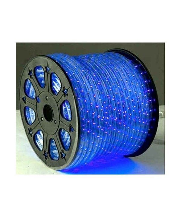 Blue Led Auto Home Christmas Lighting 3 3 Feet Ct117rowiw7 Led Rope Lights Rope Lights Led Rope
