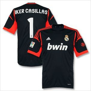 3a67fe2a0 youth kids real madrid casillas 1 gk away soccer jersey and shorts set on  ebid united