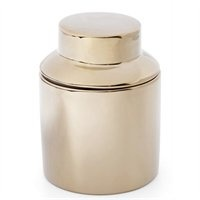 Gold Tea Canister